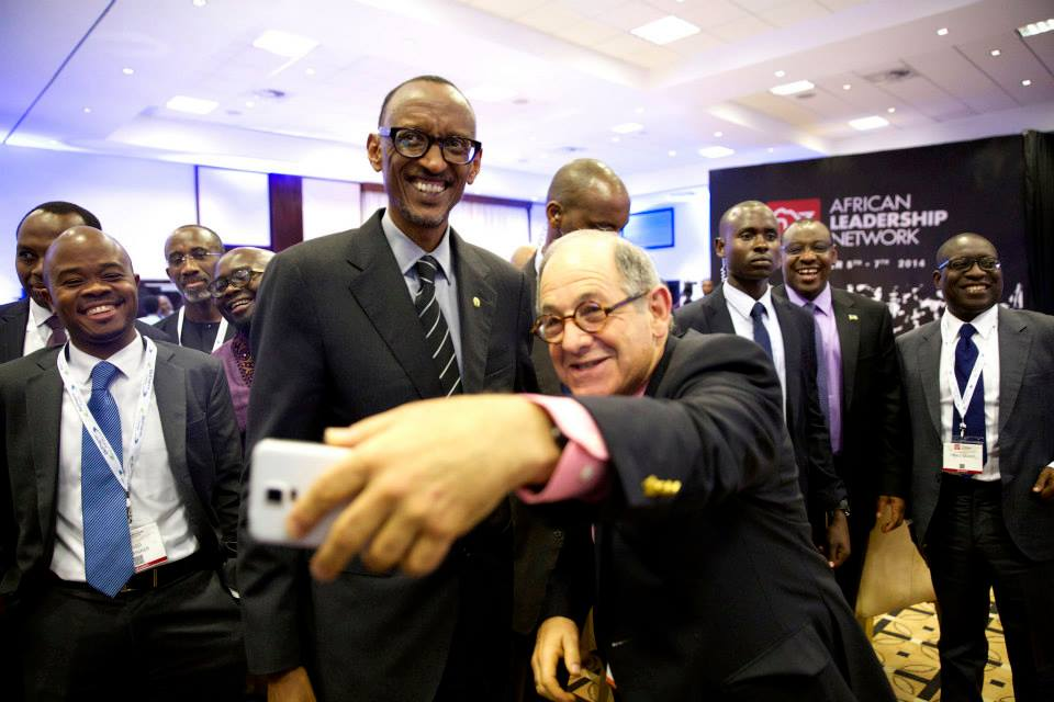 Rwanda's President Paul Kagame & Ralph Simon talk African Health & Leadership in Kigali, Rwanda