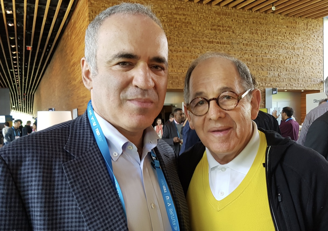 Dateline:  Vancouver, Canada – with World Chess Champion & Human Rights activist, Garry Kasparov