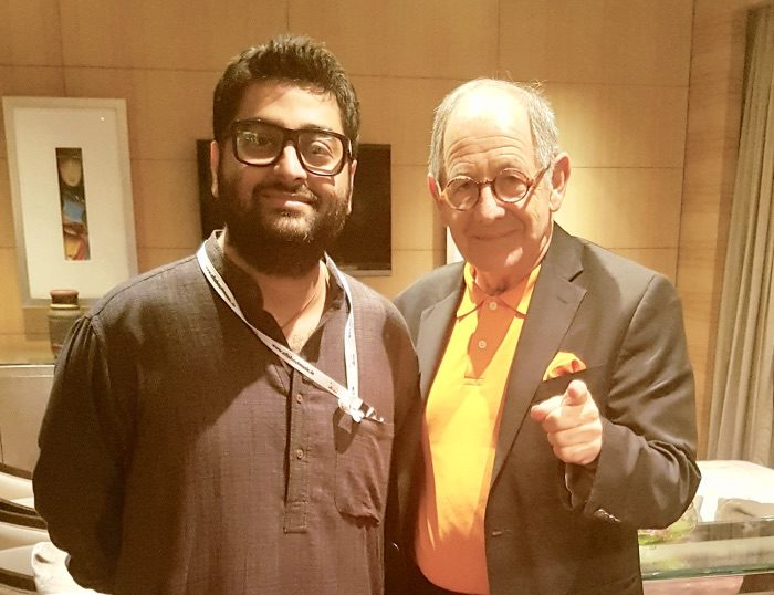 Dateline:  Mumbai – India's leading composer & singing star Arijit Singh with Ralph Simon