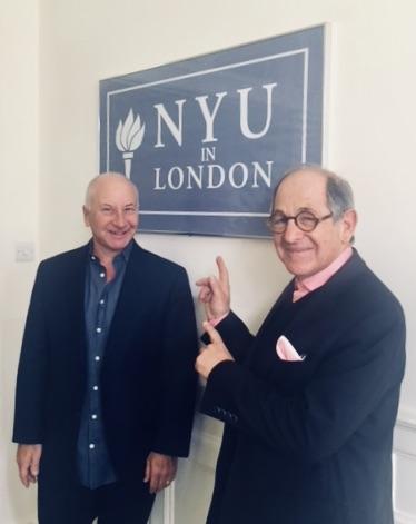 Dateline: NYU London campus: